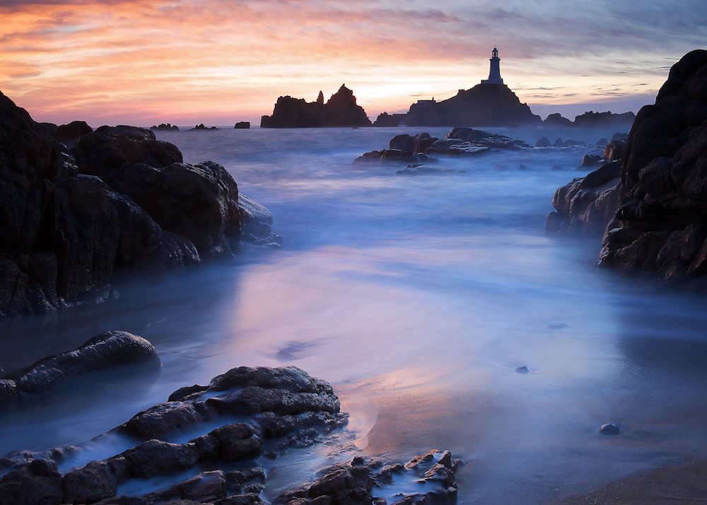 Corbiere Lighthouse by Colin Cruickshank